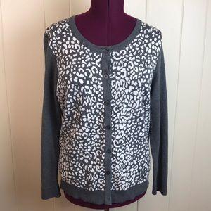 3/$27 Merona Animal Print Long Sleeve Cardigan